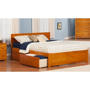 Cristina King Storage Platform Bed