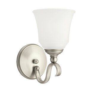 Best Price Culley 1-Light Armed Sconce By Darby Home Co