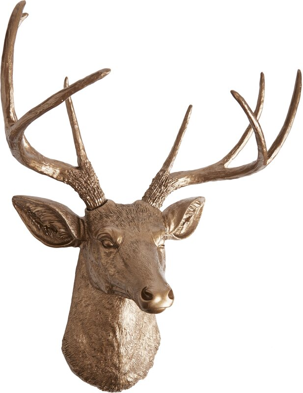 Gabriel Deer Head Wall Décor