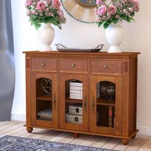 Michigamme 3 Drawer 3 Door Accent Cabinet by Astoria Grand