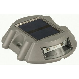 Best Reviews Solar Powered 1 Deck Light LED Rail Light By Living Accents