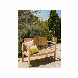 Garden Bench Made Of Solid Wood By Gracie Oaks