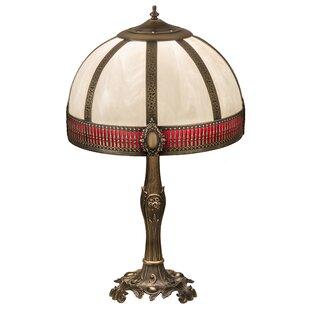 Gothic lamps wayfair greenbriar oak gothic 27 table lamp aloadofball Images