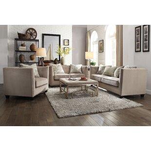 Borasisi 3 Piece Living Room Set by Rosdorf Park