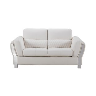 Henke Modern Loveseat by Orren Ellis