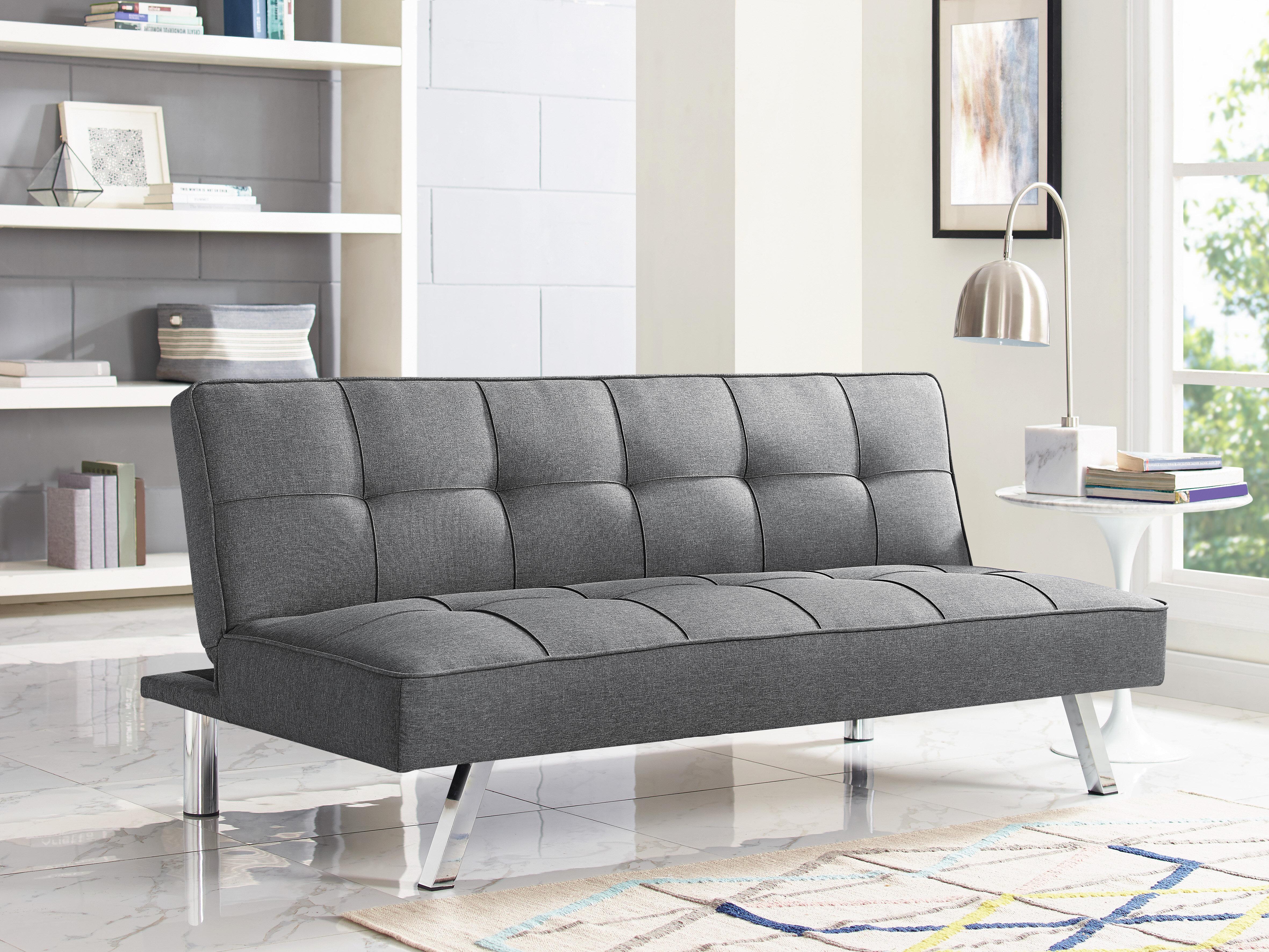 Serta Futons Corwin Convertible Sofa U0026 Reviews | Wayfair