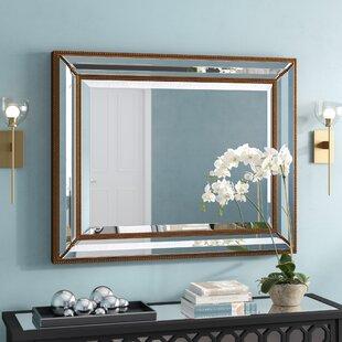 Antique Brass Wall Mirror | Wayfair