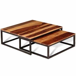 Nesrine 2 Piece Coffee Table Set By Laurel Foundry