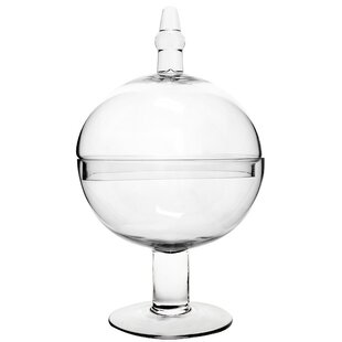 Apothecary Glass Candy Apothecary Jar Set (Set of 2)