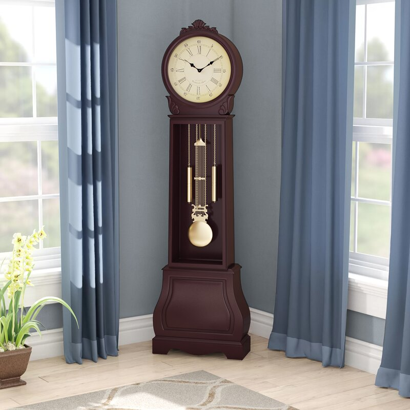 "A picture of "" Alcott Hill 72"" Floor Standing Grandfather Clock "" to better elaborate""Best standing clocks: Clocks that are sure to astound"""
