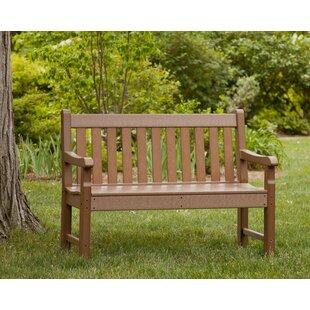 Rockford Plastic Garden Bench by POLYWOOD?