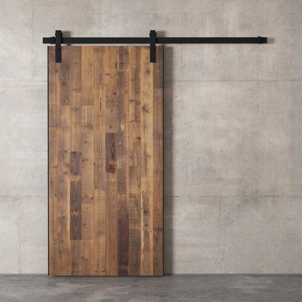 Exceptionnel Reclaimed Wood Payton Barn Door With Installation Hardware Kit