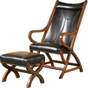 Reviews Hunter Lounge Chair and Ottoman by Largo