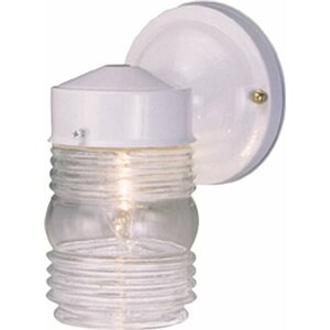 Buy Jelly Jar 1-Light Outdoor Sconce!