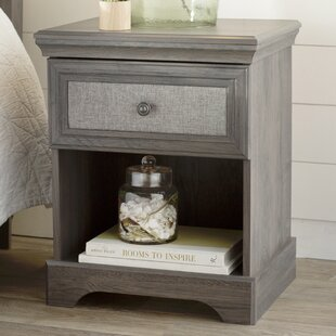 Mildenhall 1 Drawer Nightstand by Three Posts
