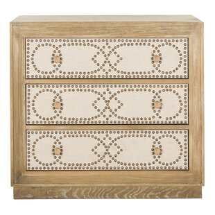 Find the perfect Ahumada 3 Drawer Accent Chest By Rosdorf Park