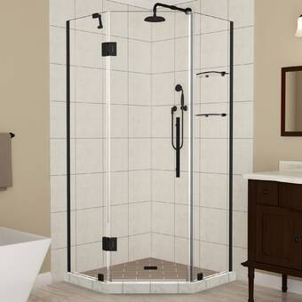 Aston Bromley Gs34 X 72 Rectangle Hinged Shower Enclosure Wayfair