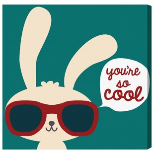 Abby You're So Cool Canvas Art by HoneyBee Nursery