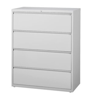 Symple Stuff Kissena 4 Drawer Lateral Filing Cabinet