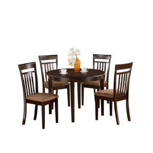 Hillhouse 5 Piece Dining Set Red Barrel Studio