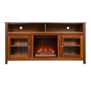 Josué TV Stand with Electric Fireplace