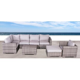 Pierson Club 4 Piece Sectional Set With Cushions by Brayden Studio Comparison