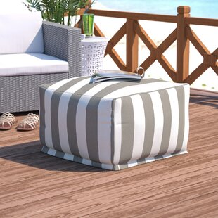 Willa Arlo Interiors Mufeeda Stripe Ottoman