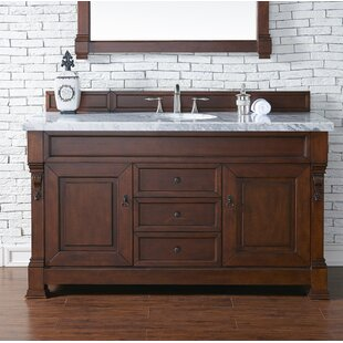 Best Brookfield 60 Single Cabinet Bathroom Vanity Base Only ByJames Martin Furniture