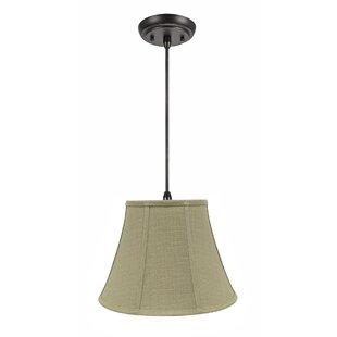 Brianna 1-Light Bell Pendant by Winston Porter