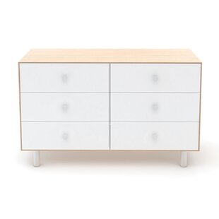 Classic 6 Drawer Double Dresser by Oeuf