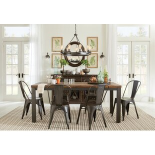 Leo 7 Piece Dining Set by Mercury Row
