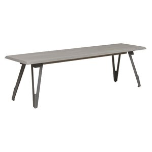 Villeroy Wood Bench by Caribou Dane