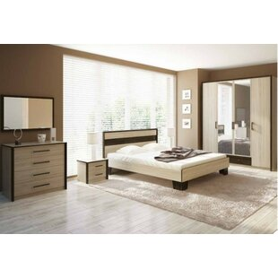Dilbeck Queen Platform Configurable Bedroom Set by Latitude Run