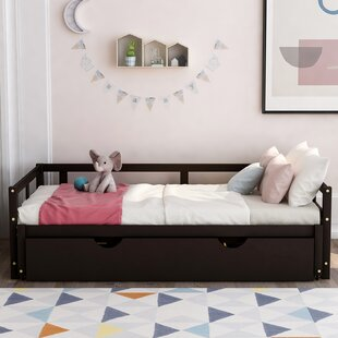 Zarate Full Bed with Trundle by Harriet Bee