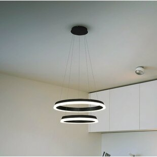 Colindale WiFi-Enab LED  Chandelier By Wade Logan Ceiling Lights