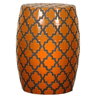New Pacific Direct Quatrefoil Garden Stool