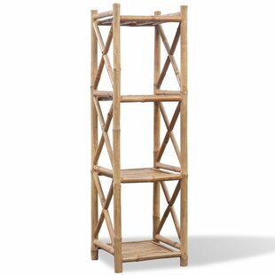 Anguilla 4 Tier Square Bookcase