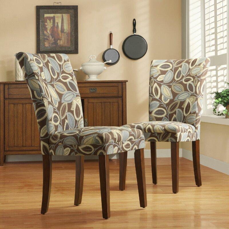 Charlton Home Doerr Upholstered Dining Chair (Set of 2)