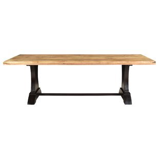 Chaunte Solid Wood Dining Table 17 Stories