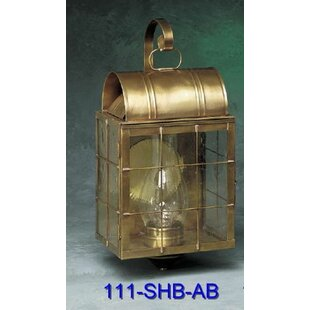 Xzavier 1-Light Outdoor Wall Lantern by B..
