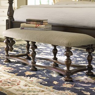 Darby Home Co Bloomer Wooden Bench