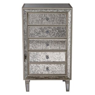 Dollie 5 Drawer Accent Chest