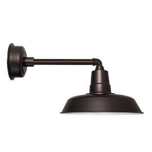 Savings Oldage 1-Light Outdoor Barn Light By Cocoweb