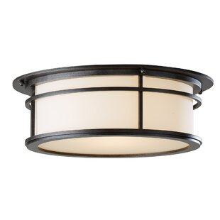 Province 2-Light Outdoor Flush Mount