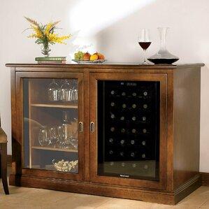 Siena 28 Bottle Single Zone Wine Sideboard by Wine Enthusiast