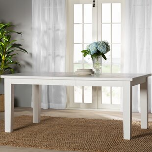 Beachcrest Home Zeinab Rectangle Extendable Dining Table