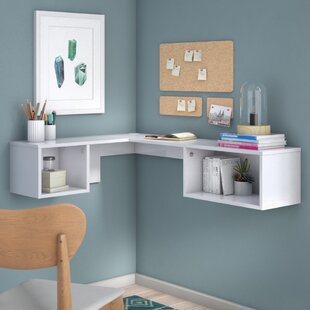Chaves L-Shape Floating Desk By Metro Lane
