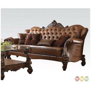 Fairfax Vintage Button Tufted Sofa