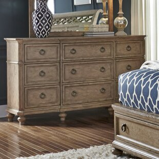 One Allium Way Piscium 9 Drawer Dresser
