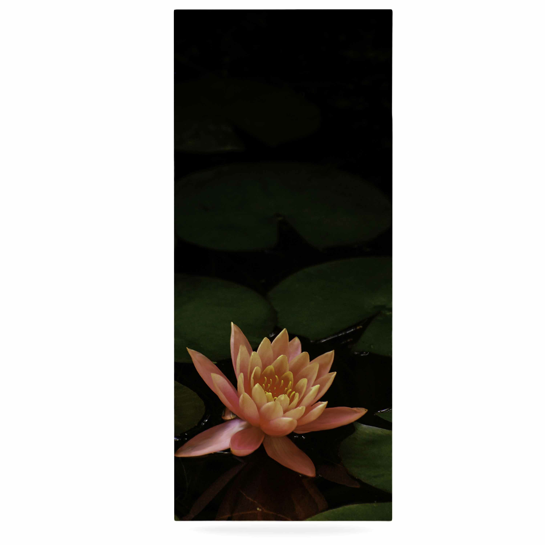 East Urban Home Lily Pad Flower Photographic Print On Metal Wayfair